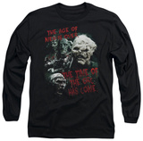 Long Sleeve: Lord of the Rings - Time of the Orc T-shirts