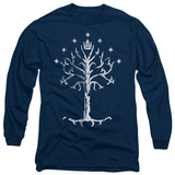 Long Sleeve: Lord of the Rings - Tree of Gondor T-Shirt