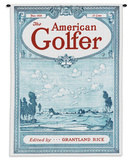 American Golfer June 1928 - Wall Tapestry Wall Tapestry