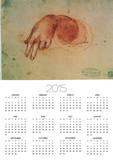 Study of a Hand Prints by  Leonardo da Vinci