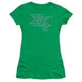 Juniors: Back to the Future - Make Like a Tree T-Shirt