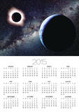 Earth and Total Eclipse Seen from Space Posters by Roger Ressmeyer