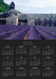 Lavender Field at Abbeye du Senanque Poster by Owen Franken