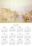 The Grand Canal Looking Towards the Dogana Print by William Turner