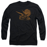 Long Sleeve: Jurassic Park - Tri Mount T-shirts
