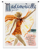 Mademoiselle June 1936 - Wall Tapestry Wall Tapestry by Helen Jameson Hall