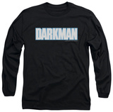Long Sleeve: Darkman - Darkman Logo T-Shirt