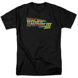 Back to the Future -  BTTF 3 Logo T-Shirt