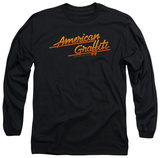 Long Sleeve: American Grafitti - Neon Logo T-Shirt