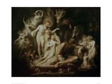 Titania's Awakening Giclee Print by Henry Fuseli