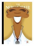 The New Yorker Cover - July 9, 2012 Regular Giclee Print by Bob Staake