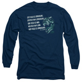 Long Sleeve: Jurassic Park - God Creates Dinosaurs T-Shirt