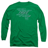 Long Sleeve: Back to the Future - Make Like a Tree T-Shirt