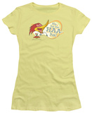 Juniors: Woody Woodpecker - Famous Laugh T-shirts