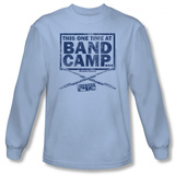 Long Sleeve: American Pie - Band Camp T-Shirt