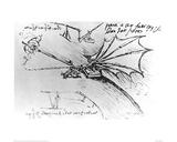 Air Buoyancy Lámina giclée por  Leonardo da Vinci