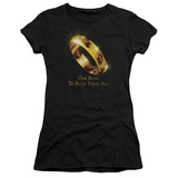 Juniors: Lord of the Rings - One Ring T-shirts