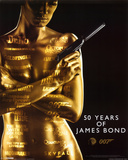 James Bond 007-50th Anniversary Prints