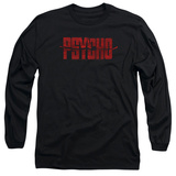 Long Sleeve: Psycho - Psycho Logo T-Shirt