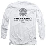 Long Sleeve: Back to the Future - Mr Fusion Logo T-Shirt