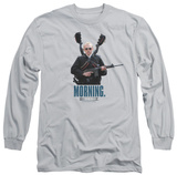 Long Sleeve: Hot Fuzz - Morning T-Shirt