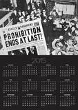 Headline Declaring the End of Prohibition, 6th December, 1933 Prints