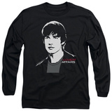 Long Sleeve: Covert Affairs - Auggie Portrait T-shirts