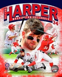Bryce Harper 2012 Portrait Plus Photo