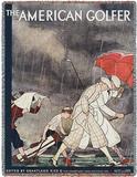 American Golfer Sept 1929 - Throw Blanket Throw Blanket