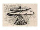 Propellor Giclée-Druck von  Leonardo da Vinci