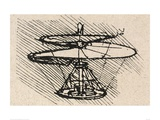 Propellor Lmina gicle por Leonardo Da Vinci