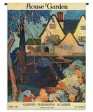 House & Garden June 1917 - Wall Tapestry Wall Tapestry by Porter Woodruff
