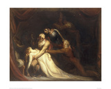 The Death of Cordelia Giclee Print by Henry Fuseli