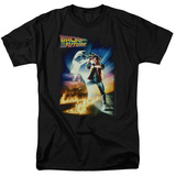 Back to the Future - BTTF Poster T-Shirt