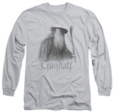 Long Sleeve: Lord of the Rings - Gandalf the Grey Shirt