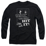 Long Sleeve: The Blues Brothers - Hit It T-Shirt
