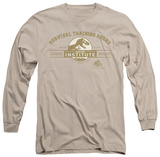 Long Sleeve: Jurassic Park - Survival Training Squad T-shirts