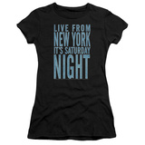 Juniors: Saturday Night Live - Its Saturday Night T-shirts