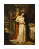 Desdemona Retiring to her Bed, 1849 Giclee Print by Theodore Chasseriau