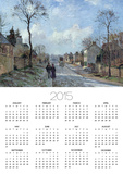 The Road to Louveciennes, 1872 Posters by Camille Pissarro