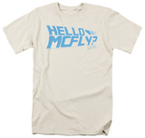 Back to the Future - Hello McFly T-shirts