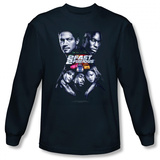 Long Sleeve: 2 Fast 2 Furious - 2 Fast Poster T-Shirt