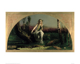 Ophelia Giclee Print by Arthur Hughes