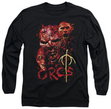 Long Sleeve: Lord of the Rings - Orcs T-Shirt
