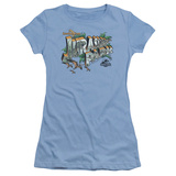Juniors: Jurassic Park - Greetings From JP T-Shirt