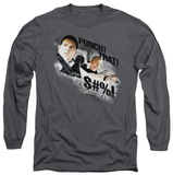 Long Sleeve: Hot Fuzz - Punch That T-shirts