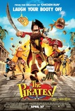 The Pirates! Band of Misfits Affiches