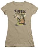 Juniors: Jurassic Park - T Rex T-Shirt