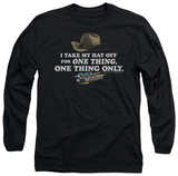 Long Sleeve: Smokey and the Bandit - Hat T-Shirt