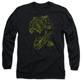 Long Sleeve: Jurassic Park - Rex Mount T-Shirt